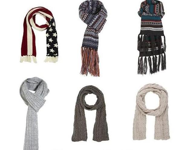 завязать красиво мужской шарф - Шарф.
