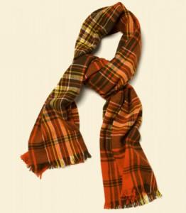 фото как завязать шарф