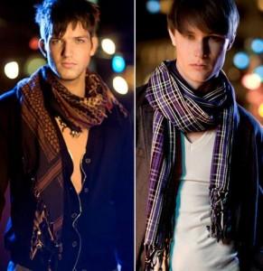 мужские шарфы фото
