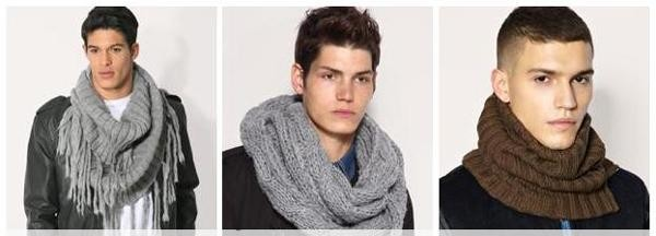 как завязывать снуд платок арафатка шарф мужчине картинки