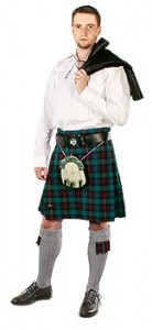 юбка шотландка