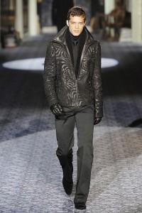 Кожаные куртки для мужчин весна 2011
