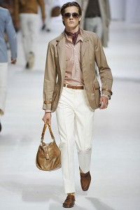 показ моды весна 2011 мужчинам