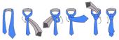 как завязывать галстук фото