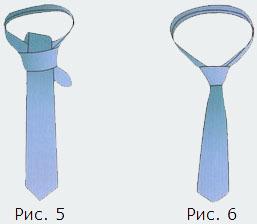 завязать галстук нью-классик фото картинки