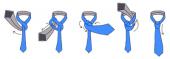 как завязывать узкий галстук инструкция