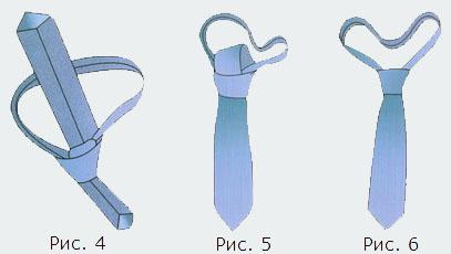 как завызывать галстук узлом свободный стиль картинки