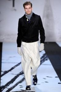 креативная модная одежда для мужчин осень 2011 2012