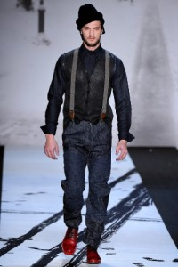 молодежная мода для парней 2011 2012