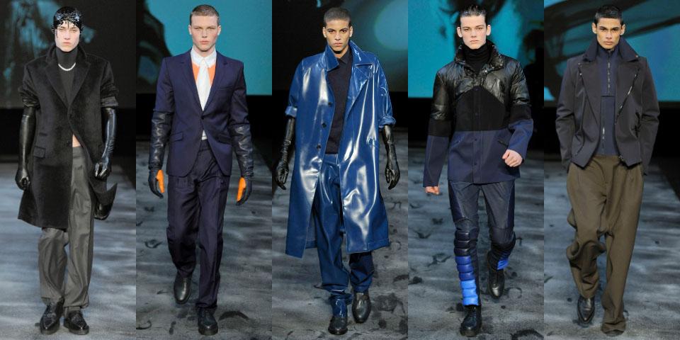 зимняя одежда для мужчин мода 2012