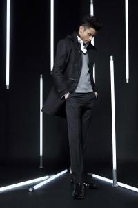 черный мужской пиджак фото