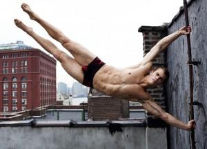 спортсмен модель красивый парень