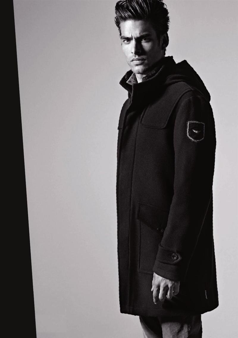 модное пальто для парней