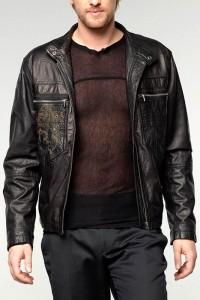 кожаная куртка - пиджак