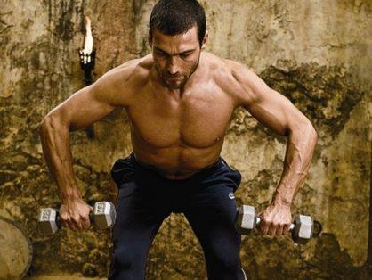 тренировки знаменитого актера из фильма спартакус 2011 фотки