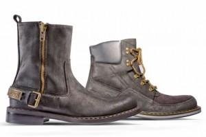 Зимние ботинки для парней от Джона Гальяно