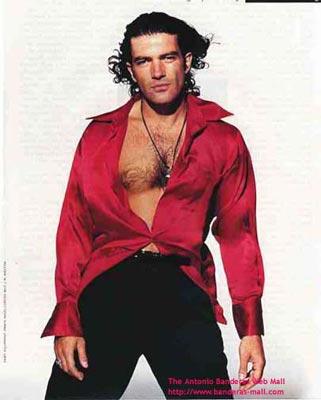 красивые мужчины мира Антонио Бандерос