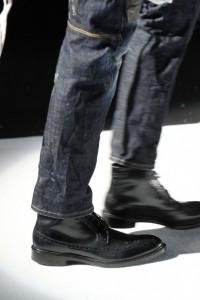 кожаная обувь зима  2012 фото