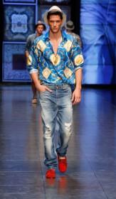 летняя рубашка и джинсы 2012