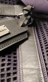 кожаные детали мужских аксессуаров D&G