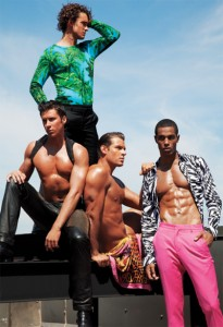линия мужской одежды лето 2012