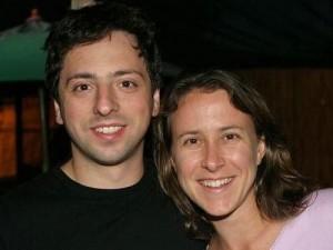 основатель гугла с женой фото