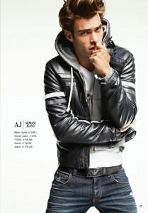 мужская кожаная куртка осень 2011