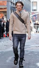мужской пуловер фото