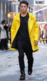 мужское зимнее пальто от Buchler