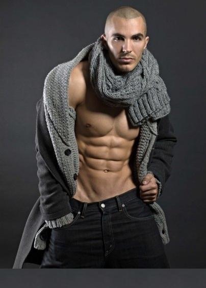модные мужские шарфы зима 2012