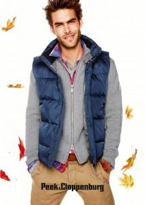 осенняя фото сессия мужская мода теплый жилет