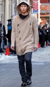 осенние трикотажные куртки мужские