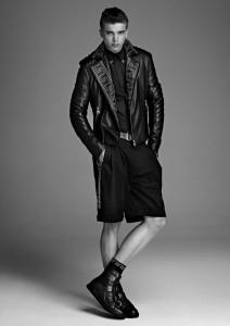 мужчины модели ривер випери мужская линия одежды от версаче