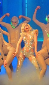 Гага на сцене фотки