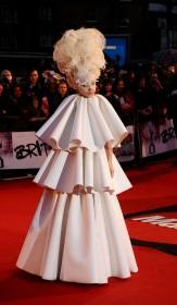 вручение Гремми Леди Гага
