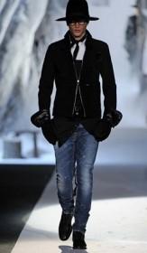 потертые джинсы для парней 2012