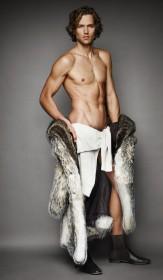 модные мужские шубы 2012