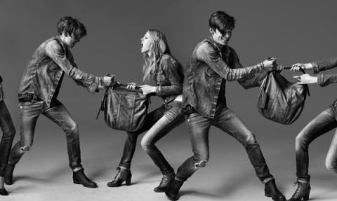 Джинсовые куртки и джинсы 2012 фото