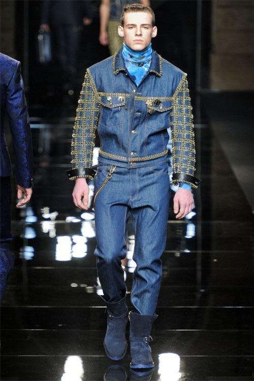 Для мужчин от версаче мужская мода 2013