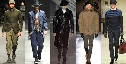 Мужская верхняя одежда для зимы 2013 - фото, коллекции, каталоги