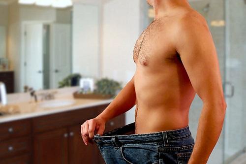 как быстро скинуть жир с живота мужчине