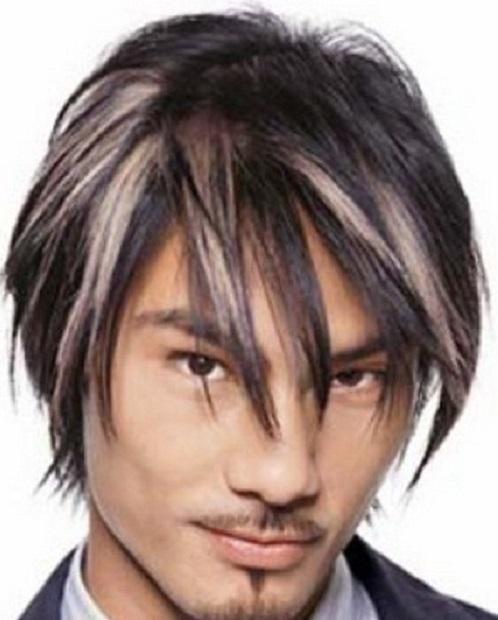 мужское мелирование волос
