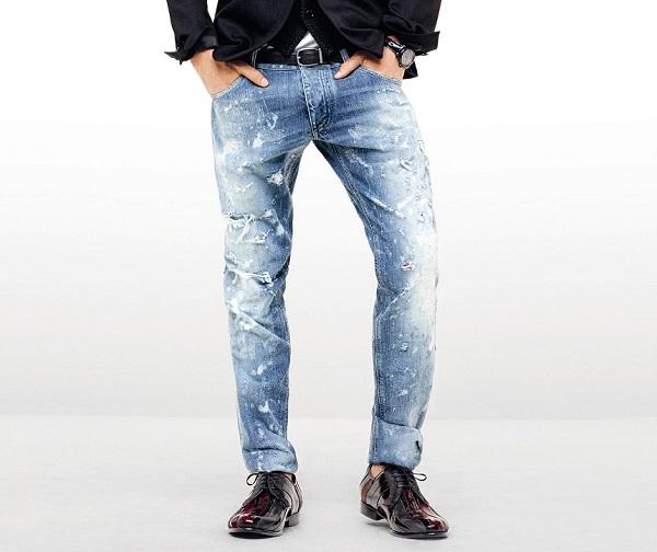 рваные джинсы от дольче габбана