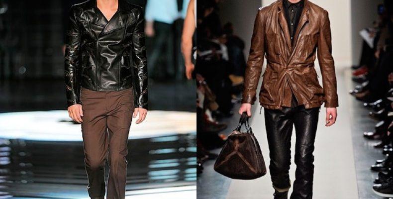 Стильная куртка — значит кожаная!