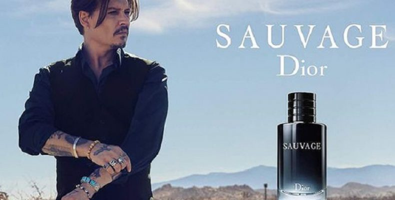 Джонни Депп и мужской парфюм от Dior